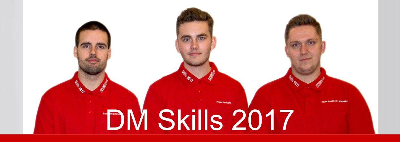 Vi var stolte af at kunne leverer værktøj til DM i Skills 2017